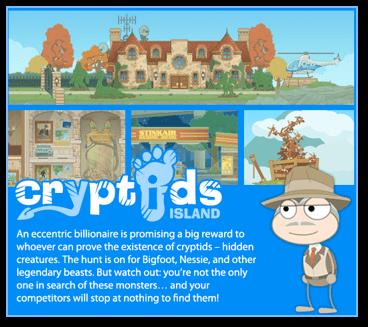 Poptropica Cryptids Island