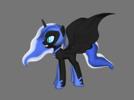 http://supergrape1.deviantart.com/art/Nightmare-Moon-in-3D-Try-2-679506402