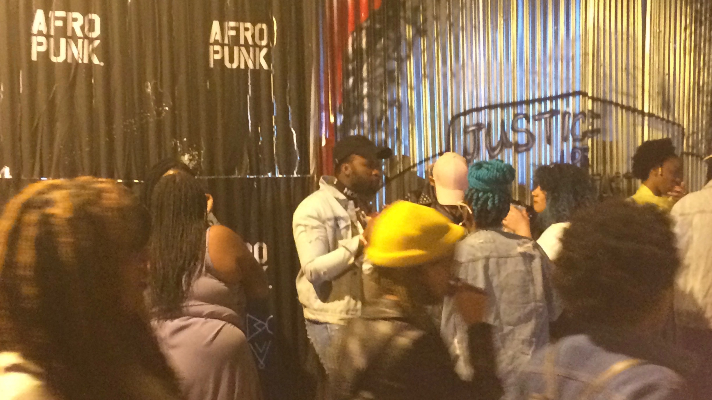 Being Photographed at Afropunk