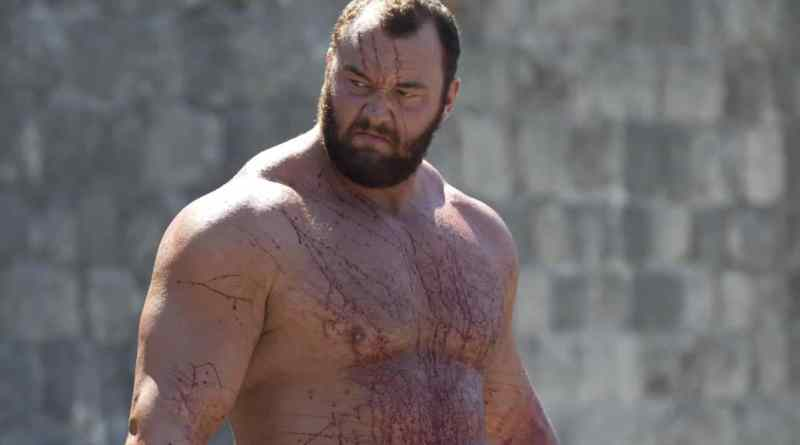 Hafþór Júlíus Björnsson dans Games of thrones - HBO