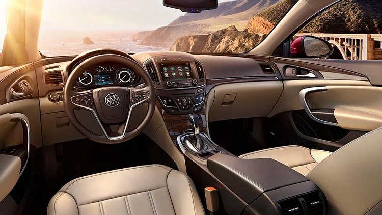 Image result for 2018 buick regal interior