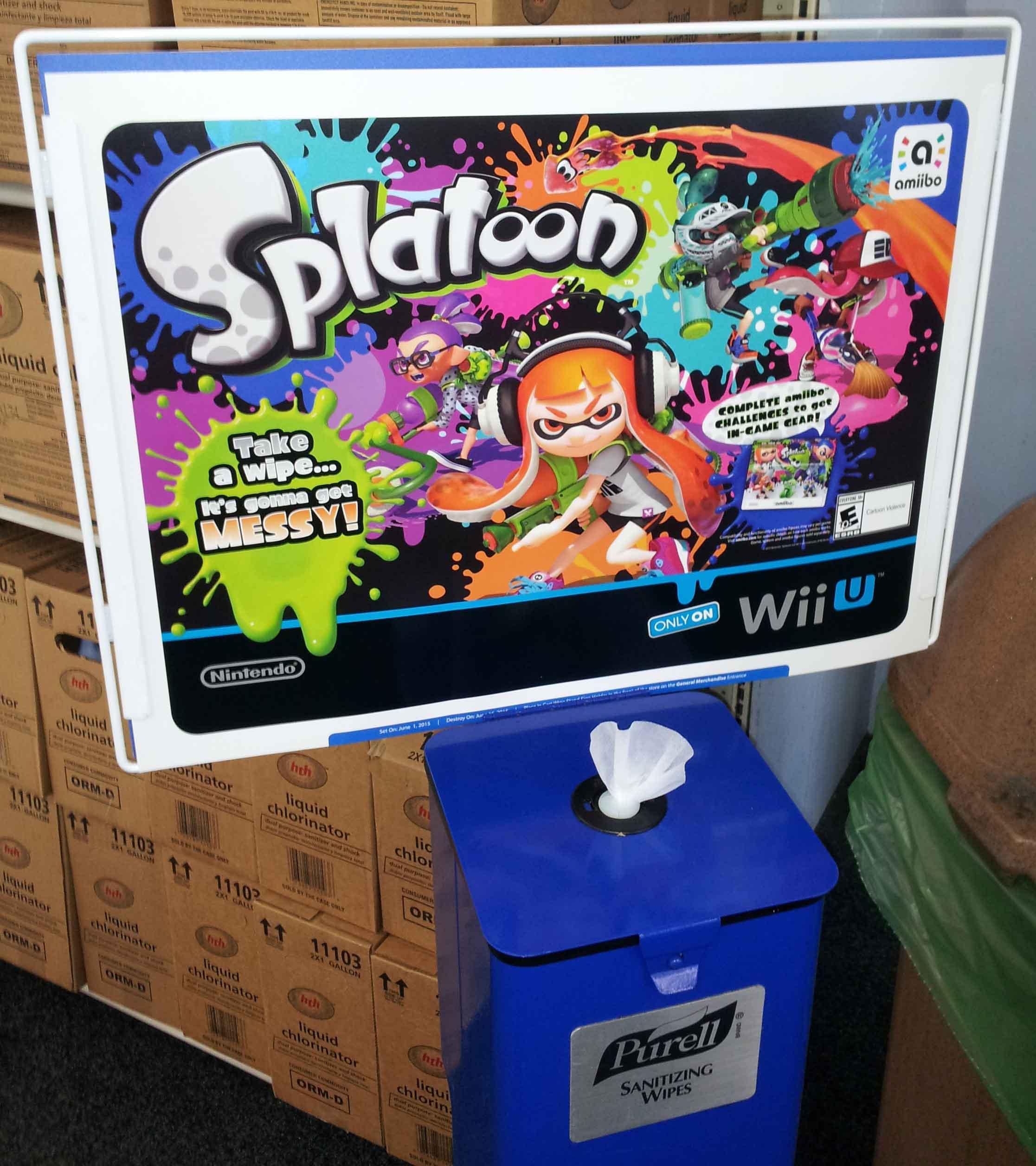 Splatoon marketing – Popular Culture Gaming