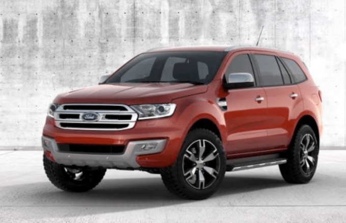 2020 Ford Everest