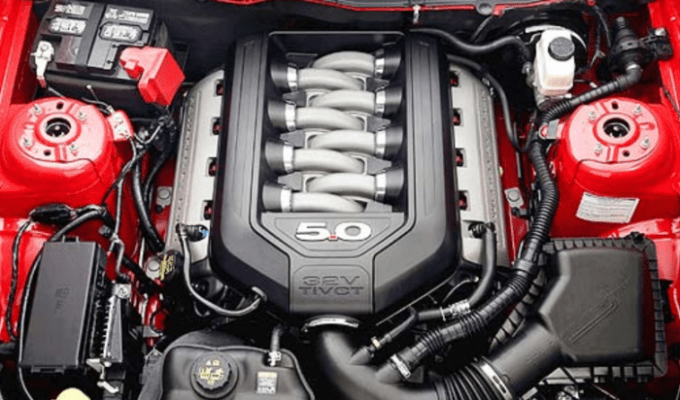 2019 Ford GT Engine