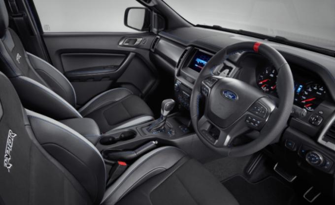 2019 Ford Ranger Raptor Interior