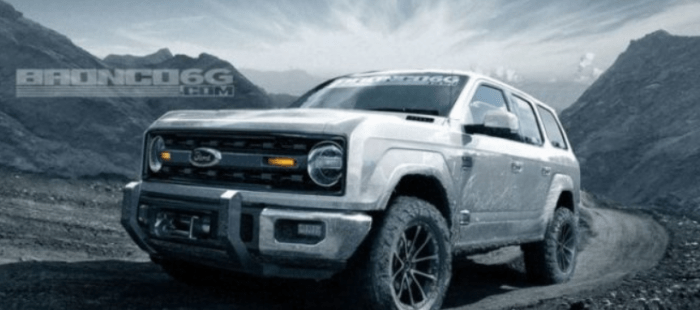 2019 Ford Bronco 4 Door