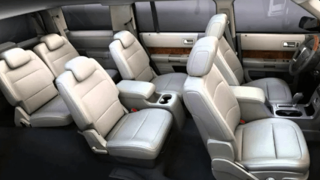 2020 Ford Flex Limited Interior