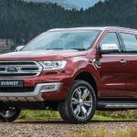 2021 Ford Everest Exterior