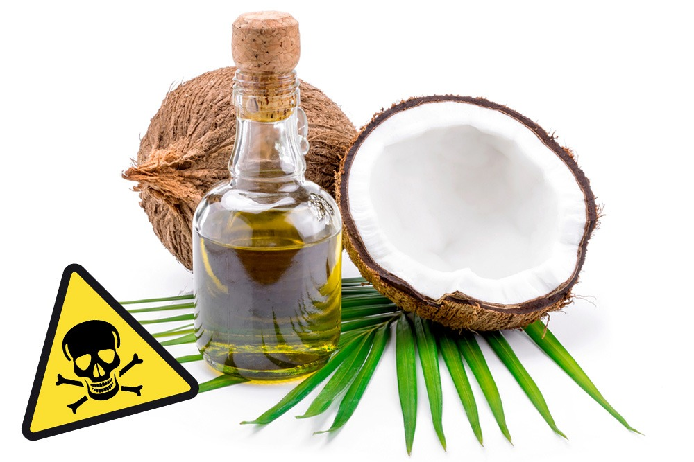 Ten Foods That Are Bad and You Should Never Eat - Coconut Oil