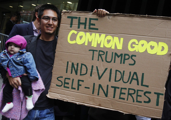 Common Good trumps self interest