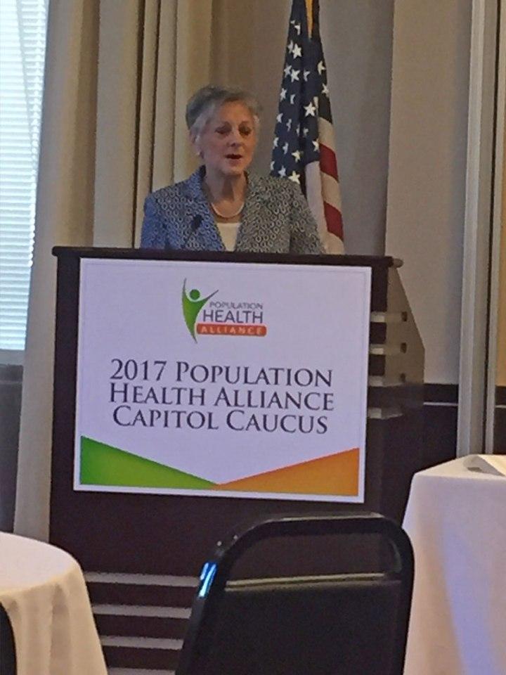Congresswoman Allyson Schwartz