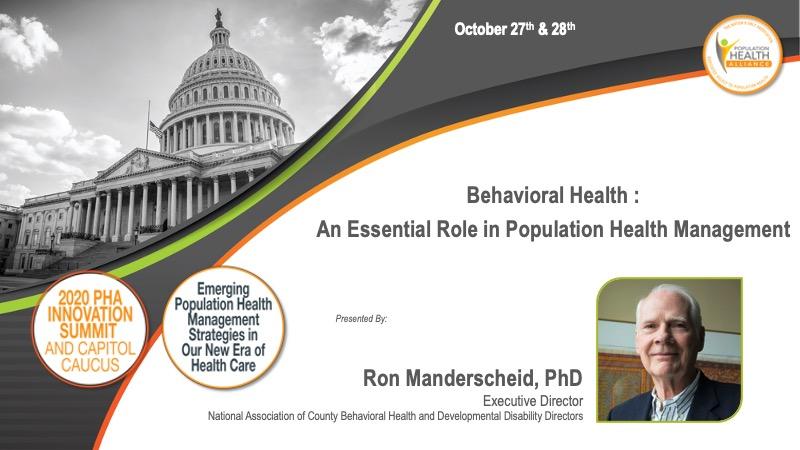 Behavioral Health Keynote