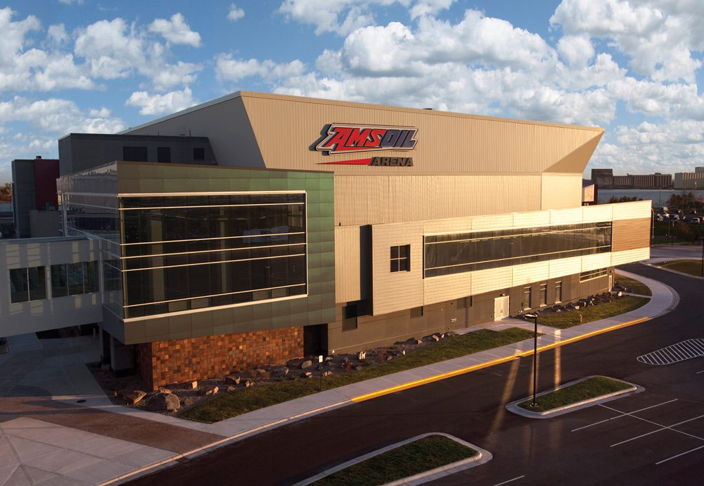 AMSOIL Arena Earns LEED Certification POPULOUS