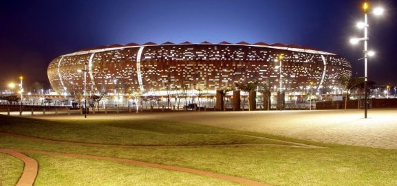 Image result for image of Soccer City Stadium