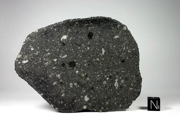 Внутри метеорита обнаружили белок