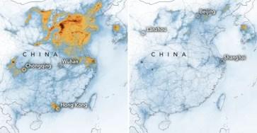 Коронавирус снизил загрязнение в Китае