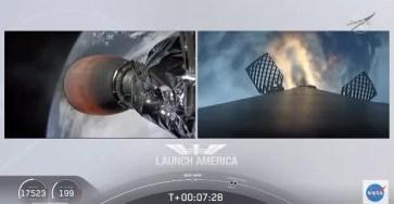 SpaceX впервые успешно запустила людей в космос