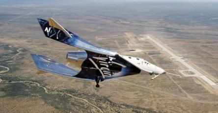 Новый корабль Virgin Galactic прошел тестовое испытание