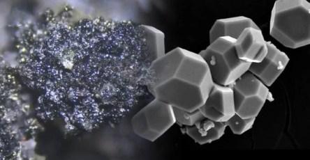 Найдены два минерала, образовавшиеся из вулканических газов