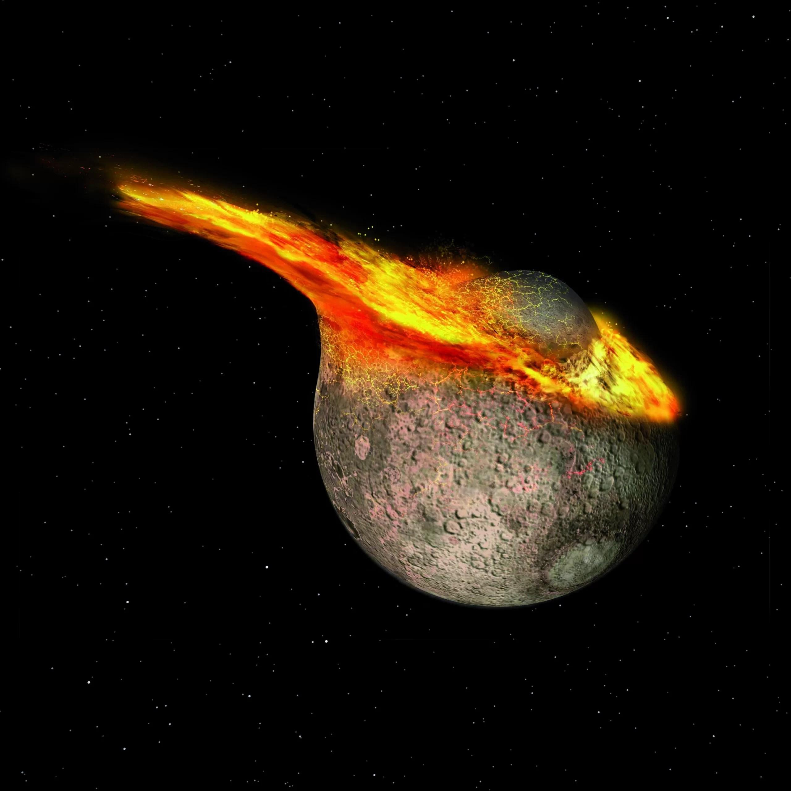Возраст Луны «уменьшили» на 125 миллионов лет