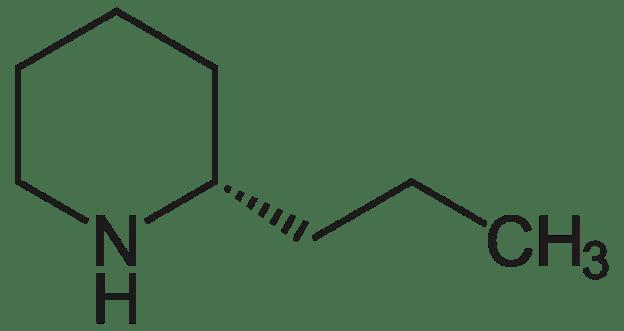 Структурная формула кониина