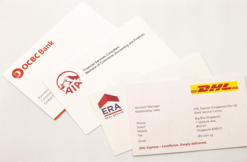 Business Card Printing Namecard Pop Up Print Singapore