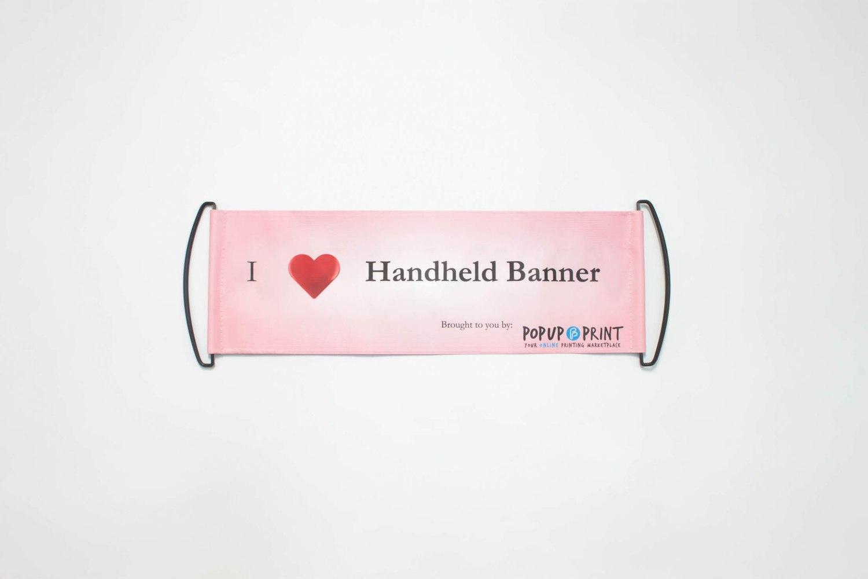 Handheld Banner