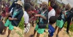 Humble as Davido captured singing and dancing with kids on the street (Video)