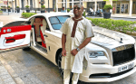 Socialite, Mompha Excited As He Celebrates His Birthday(Photos)