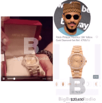 Ozo receives ₦8 million Patek wrist watch from his fans (Video/Photo)