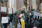 Nigerians In USA Stage #EndSARS Protest In New York (Photos/Videos)