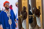 Watch moment 30BG treated Davido to an early morning surprise on his 28th birthday (Video)
