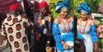 Man seen spraying onions on a couple during traditional wedding (Video)