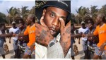 Watch how Ghanaians welcome Burna Boy on his weekend chill in Ghana (Video)