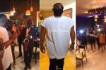 Watch moment #BBNaija Kiddwaya walked into the surprise birthday party organised by his fans (Video)