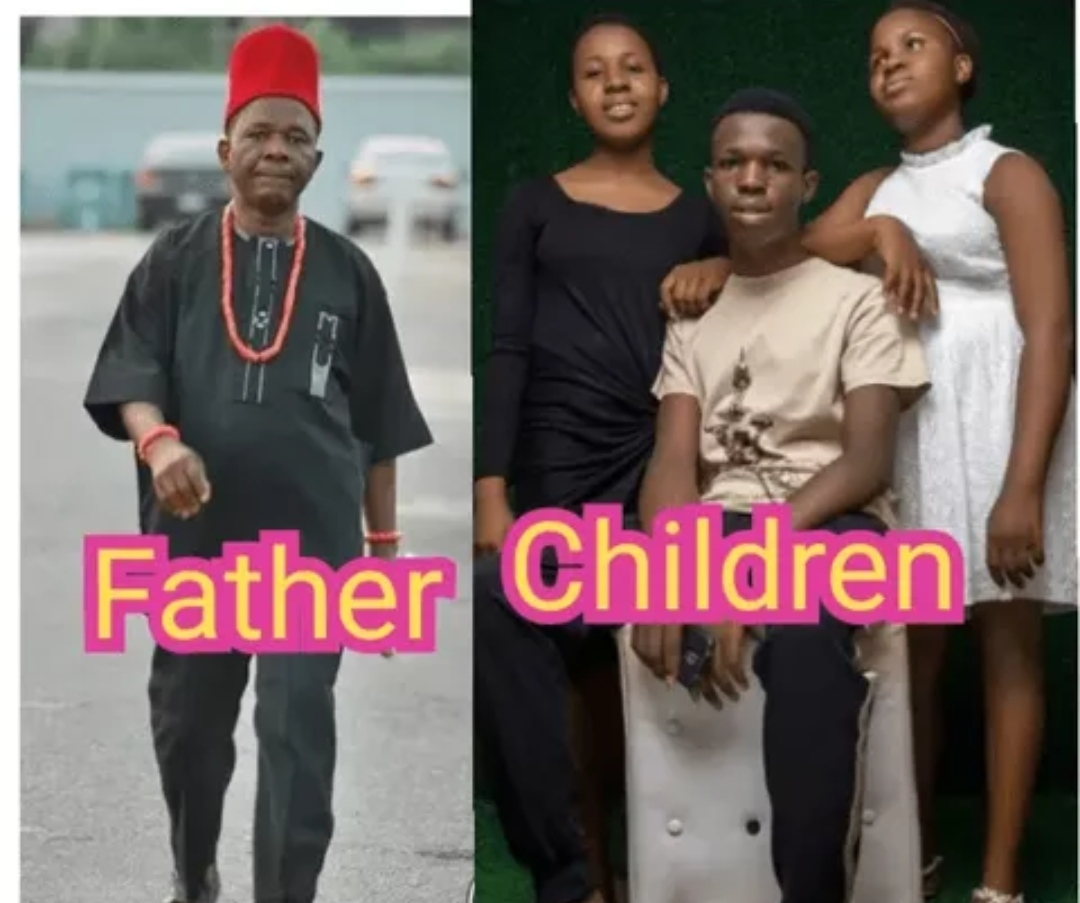 Chiwetelu Agu and his family