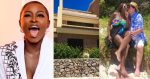 """""""My old wine buys the best gifts"""" – Ka3na writes as she shows off the house her husband gifted her for her 27th birthday (video)"""