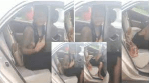 Nigerian lady left disappointed as her boyfriend who was supposed to pay her cab fare didn't pick his calls after she'd gotten to her destination (Video)