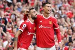 Cristiano Ronaldo marked his return to Premier League football with Two Goals as Man U downed Newcastle United 4-1 at Old Trafford on Saturday(watch the highlights)
