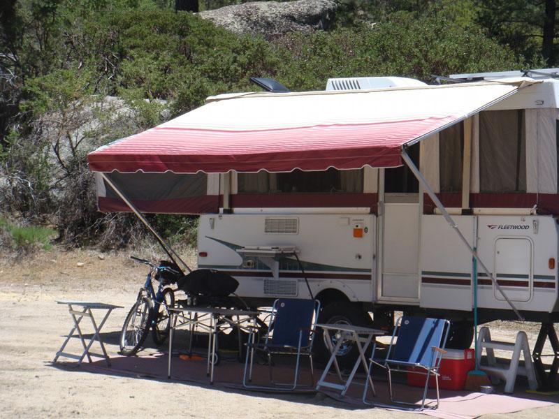 Shademaker Supreme Tent Trailer Awning | PopUpBackpacker