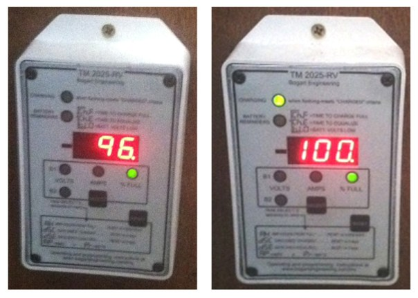 Rv Battery Voltage Monitor : State of charge your camper rv may be killing