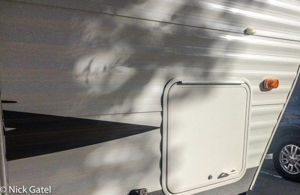 Camper Cargo Door Mod | PopUpBackpacker