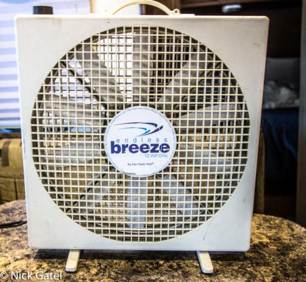 Endless Breeze 12 Volt Fan, by Fan-Tastic Vent | PopUpBackpacker on