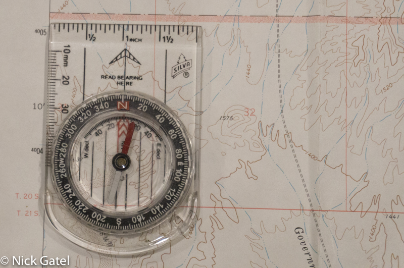 How To Orient Your Map Quickly With A Compass