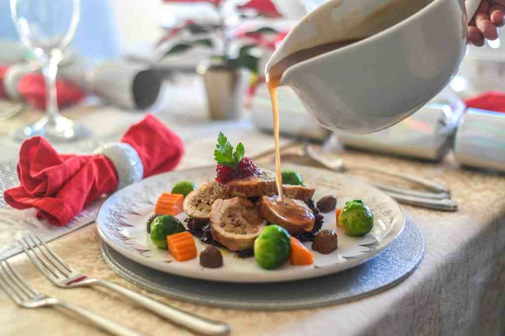 Christmas dinner by PopUp Chef