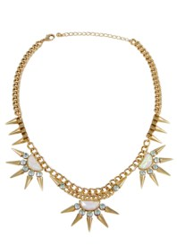 Spiked Necklace | Photography: Beeline Group