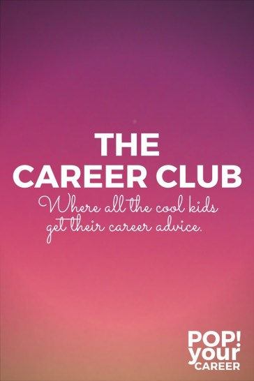 The Career Club - Access to loads of free resources, all for free! ~ Pop Your Career