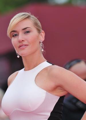 Kate Winslet diz que filho de 7 anos contou que um dia pode ter um namorado