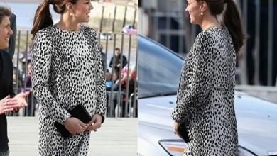 Foto de Kate Middleton revela quando nascerá seu segundo bebê