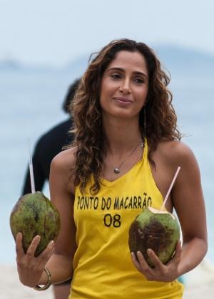 """""""Tenho orgulho"""", diz Camila Pitanga ao lembrar que morou em comunidade"""